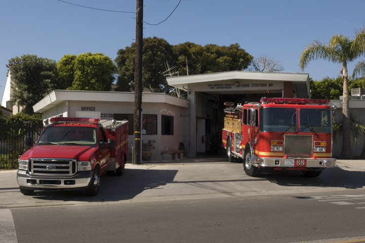 Fire Station #88 | Malibu Rd. | All Things Malibu