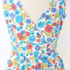 vintage floral dress | Malibu Vintage Goods