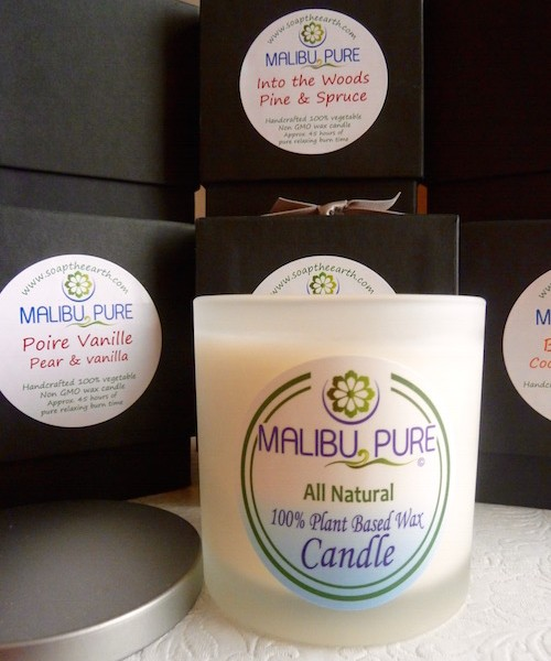 Soap the Earth | Natural Plant Based Wax Candle| All Things Malibu