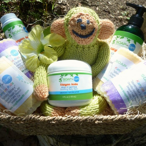 Soap the Earth |Deluxe Baby Basket | All Things Malibu