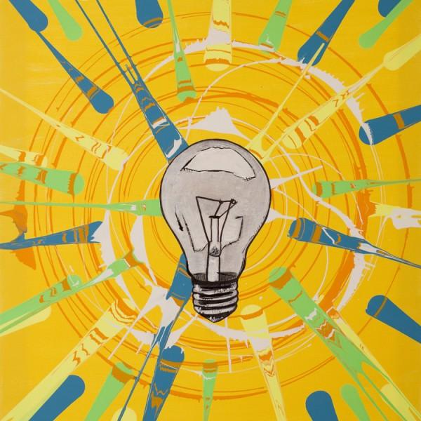 Be The Light | Spin Art | Prints | Maya Armony Art | All Things Malibu