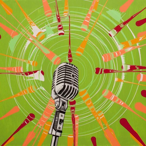 On The Air | Spin Art | Print | Maya Armony | All Things Malibu