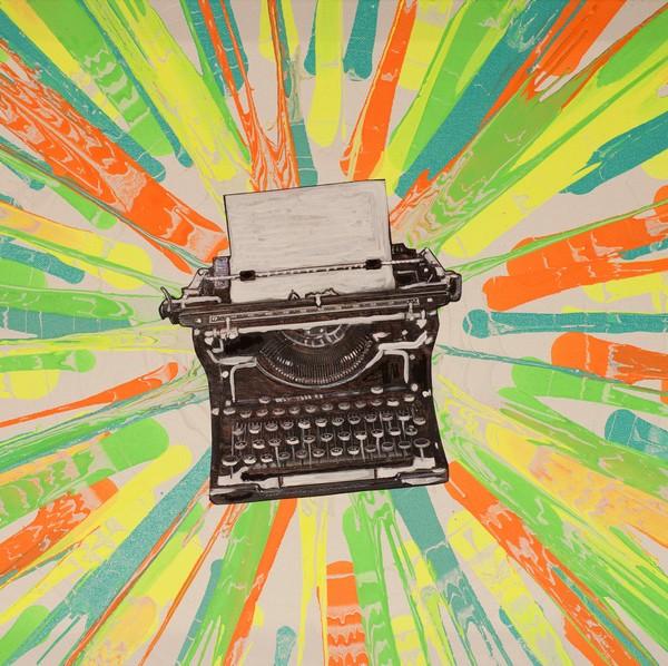 Typography | Spin Art | Prints | Maya Armony | All Things Malibu