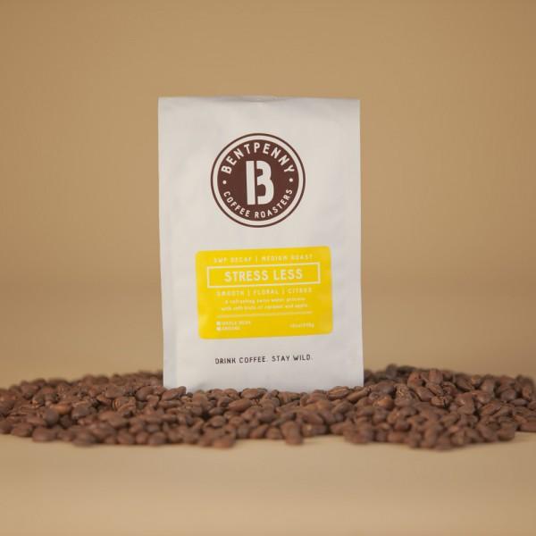 Stress Less | Organic Decaf Coffee | All Things Malibu