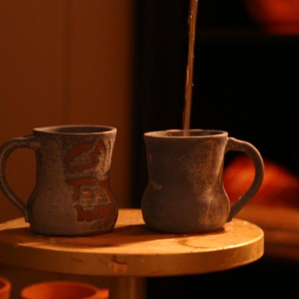 Call To The Wall Mugs | Erik's Pottery | All Things Malibu