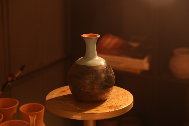 Raku Vase - Erik Philbrick | Hand Made Pottery | All Things Malibu