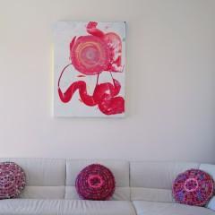 Full Circle | Mixed Media Canvas circle1 | Maya Armony | All Things Malibu