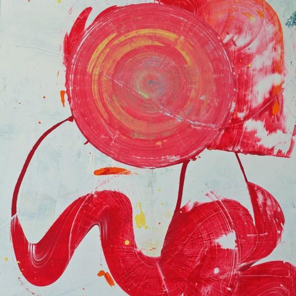Full Circle | Mixed Media Canvas | Maya Armony | All Things Malibu