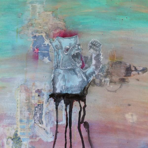 Killing Me Softly | Framed Mixed Media Collage2 | Maya Armony | All Things Malibu