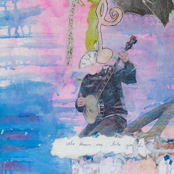 Music Is Life | Mixed Media Canvas | Maya Armony | All Things Malibu