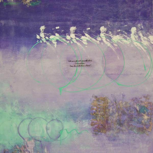 Path of Love | Mixed Media Canvas | Maya Armony Art | All Things Malibu