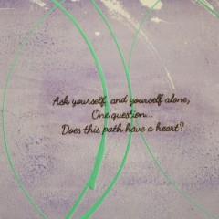 Path of Love | Mixed Media Canvas closeup1 | Maya Armony Art | All Things Malibu