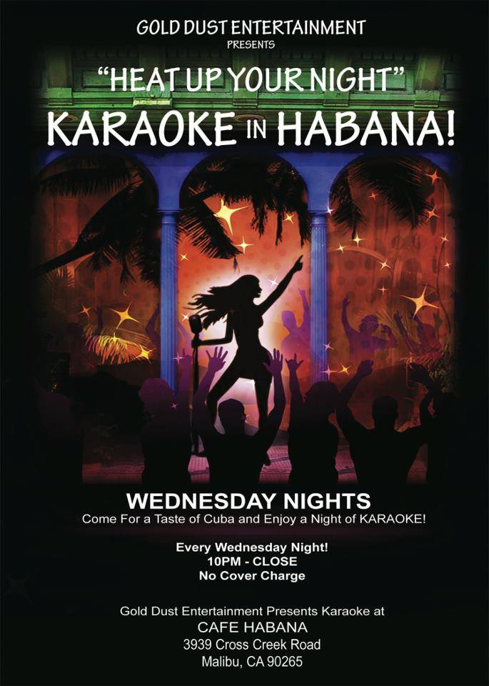 cafe habana karaoke