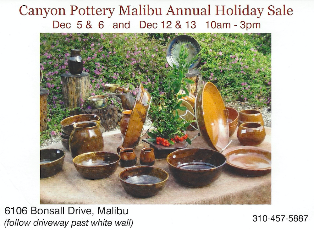 pottery holiday sale