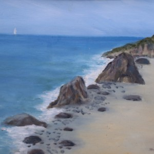 broad beach painting | All Things Malibu
