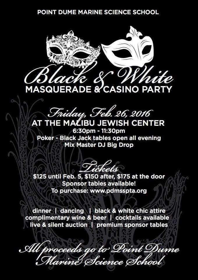 masquerade & casino party