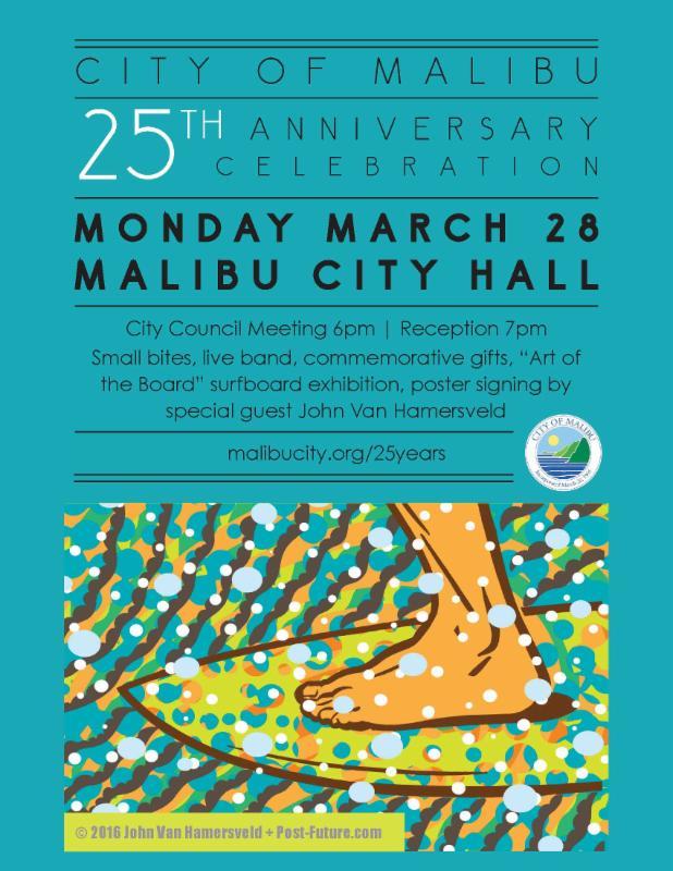 25th anniversary flyer