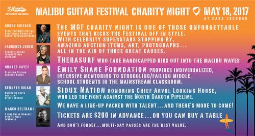 MGF charity night