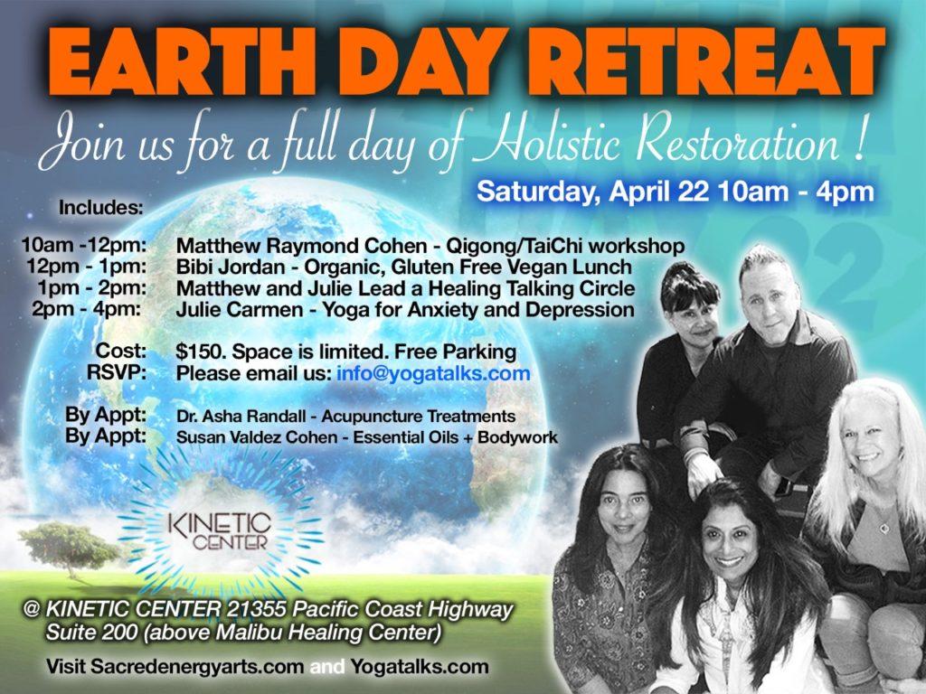 earth day retreat