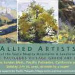Art Exhibit and Sale to support Palisades Village Green