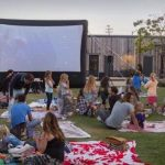 Screen on the Green with Vintage Grocers